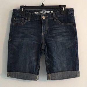 Missimo Supply Co Denim Bermuda Shorts Sz 9